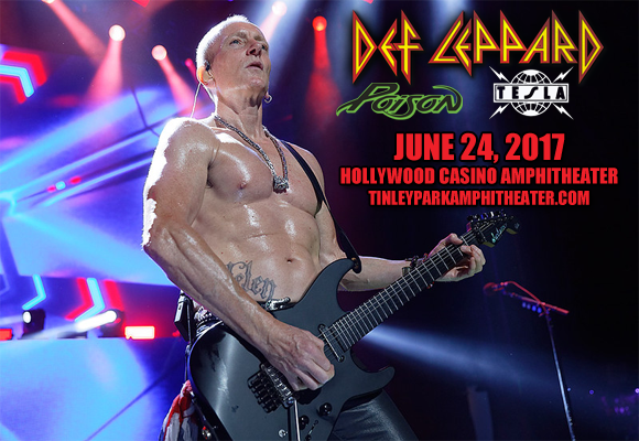 Def Leppard, Poison & Tesla  at Hollywood Casino Ampitheatre