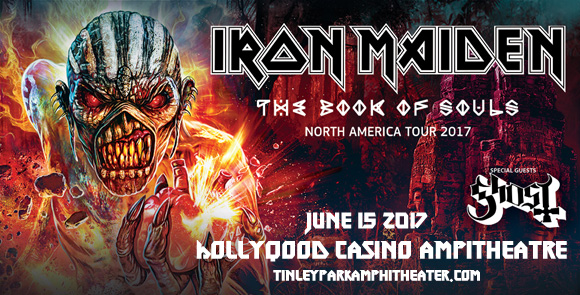 Iron Maiden & Ghost at Hollywood Casino Ampitheatre