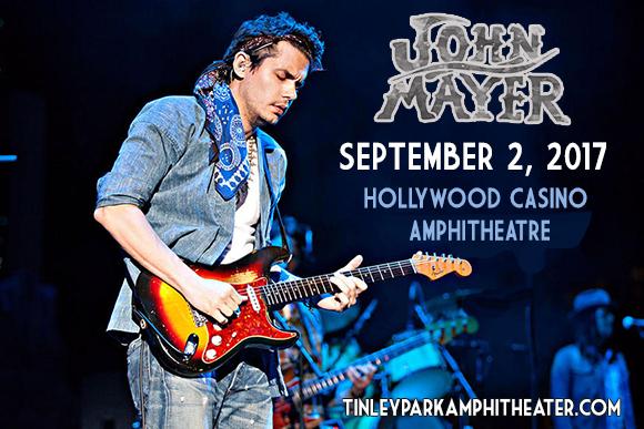 John Mayer at Hollywood Casino Ampitheatre