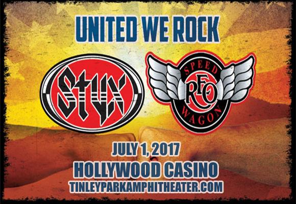 Styx, REO Speedwagon & Don Felder  at Hollywood Casino Ampitheatre