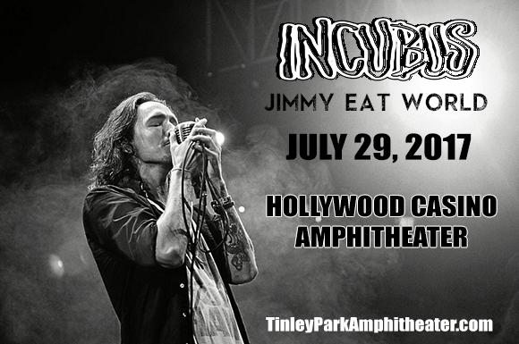Incubus & Jimmy Eat World at Hollywood Casino Ampitheatre