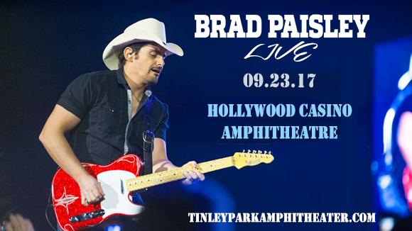 Brad Paisley, Dustin Lynch, Chase Bryant & Lindsay Ell at Hollywood Casino Ampitheatre
