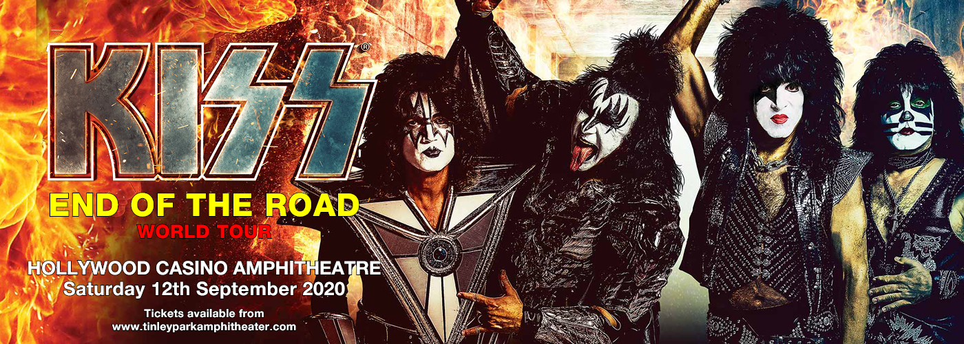 Kiss: the End of the Road World Tour at Hollywood Casino Amphitheatre