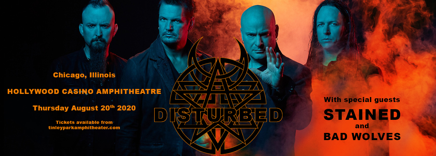 Disturbed, Staind & Bad Wolves [CANCELLED] at Hollywood Casino Amphitheatre