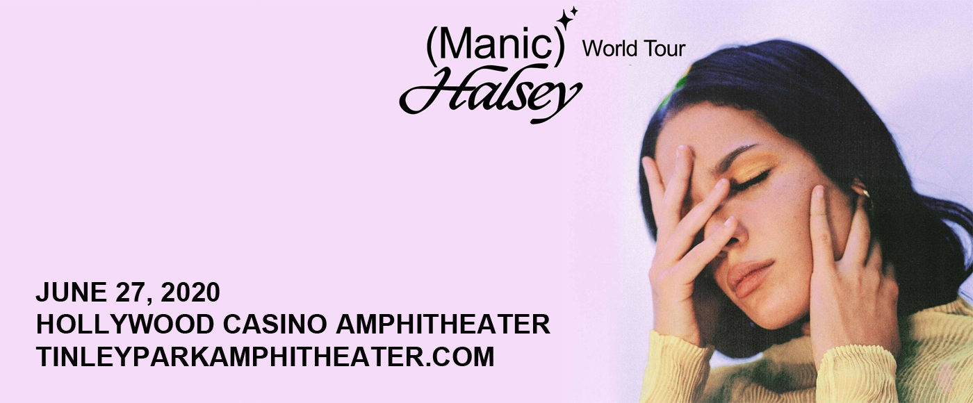 Halsey [CANCELLED] at Hollywood Casino Amphitheatre