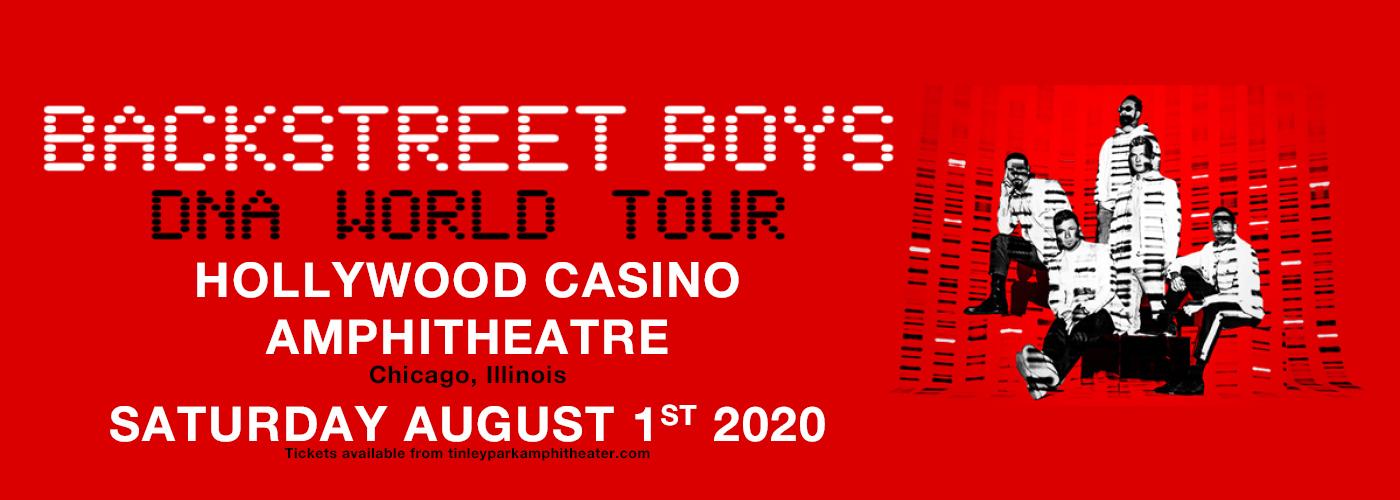 Backstreet Boys at Hollywood Casino Amphitheatre